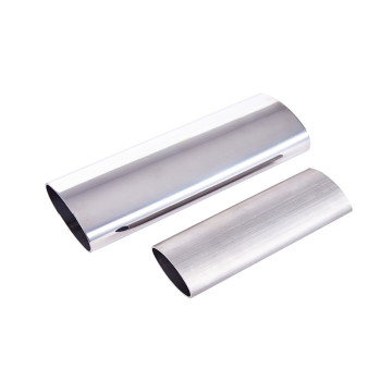 316L Mirror Finish  Stainless Steel Oval Pipe