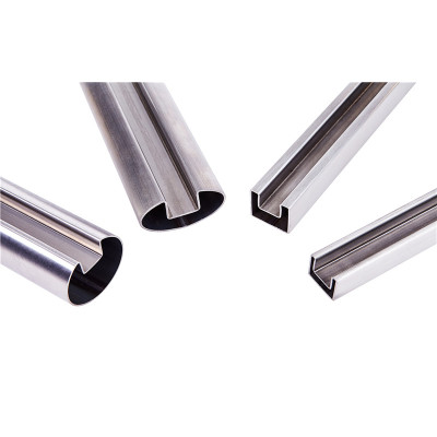 Ornamental 304  Stainless Steel  Slot Pipe