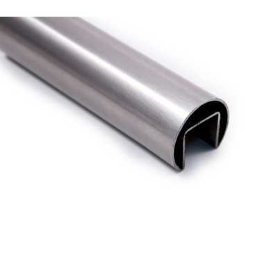 316L Material Mirror Finish  Stainless Steel Slot Tube