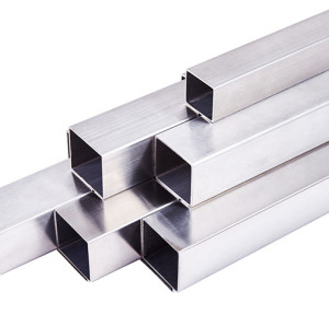 316 60x60mm Satin Finish Stainless Steel Square Tube