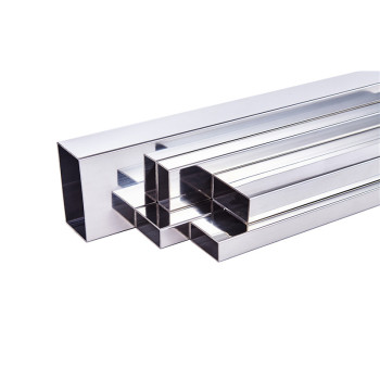 Stainless Steel Rectangular Stainless Steel Tube  Prices for Handrail