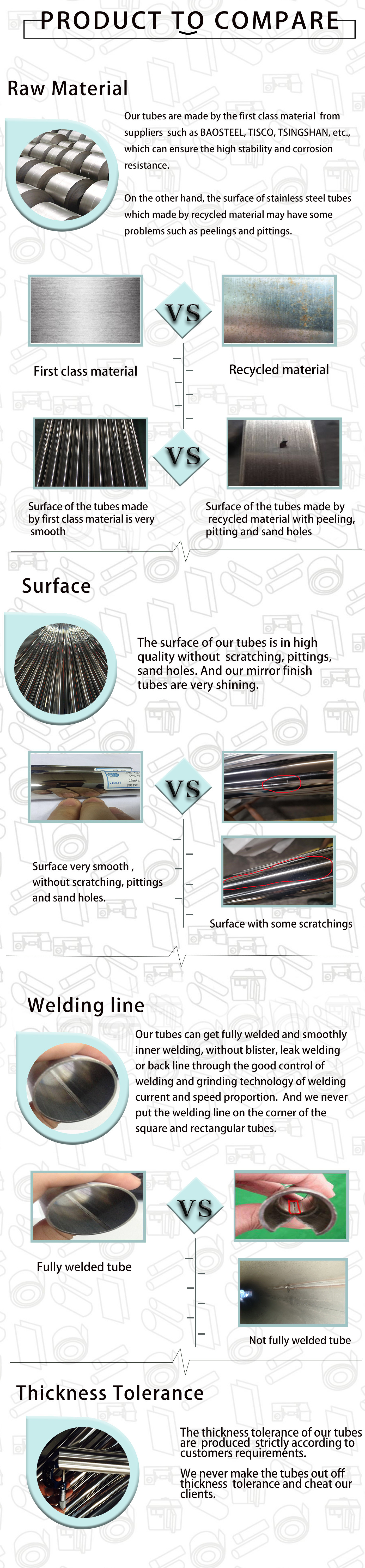 stainless steel pipe quality