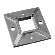 316L  Satin Finish Welded Square Flange