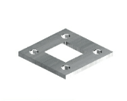welded square flange
