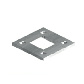 welded square flange