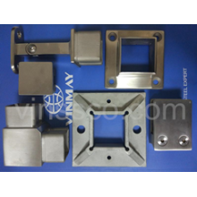 Hot sales Fitting :  Square railing fittings for 40x40x2.0 square tube