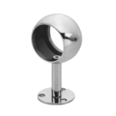 304L Mirror Finish Handrail Straight Support Middle