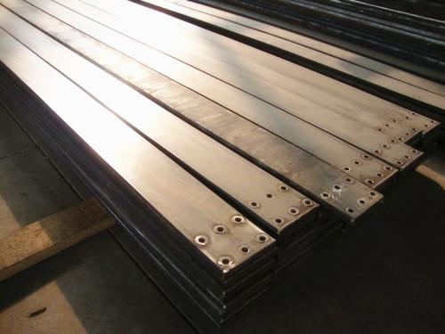 티타늄 구리 강철 3 층 복합 금속 도전기 봉.
