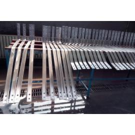 Titanium clad Copper bending punch pieces