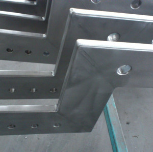 双层金属复合材料—钛包铜成型焊件