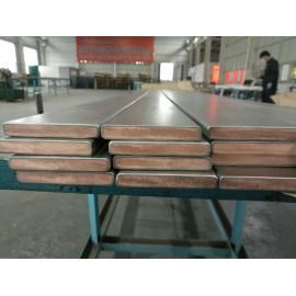 Titanium clad Copper stright line