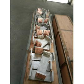 Titanium clad Copper welding pieces