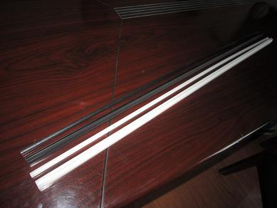 Negative Platte PVC PVC-Kunststoff-clips