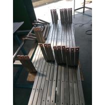 Titanium clad Copper processing busbar