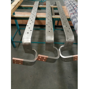 Titanium Copper clad bending punching busbar