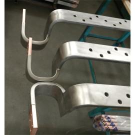 티타늄 쌍 층 복합 금속 가공품.