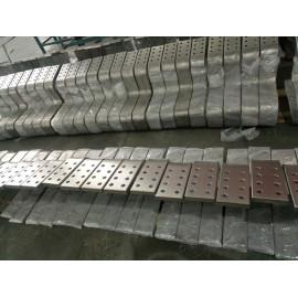 双层金属复合材料—钛包铜多孔折弯成型件