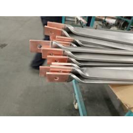 雙層金屬復合材料—鈦包銅扭麻花成型件