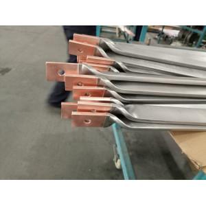 双层金属复合材料—钛包铜扭麻花成型件