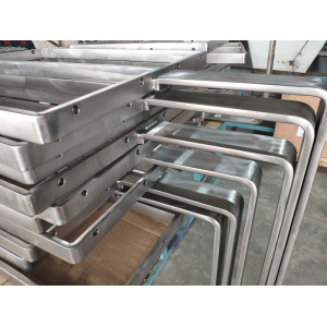 Titanium - clad copper combined welded forming parts