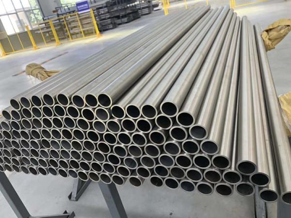 Titanium seamless tube