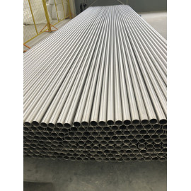 Titanium seamless tubing