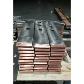 Titanium Copper clad bar for Copper Foil equipment