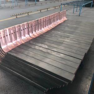 Titanium clad copper special welding work piece