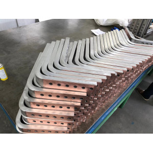 双层金属复合材料—钛包铜多孔异形焊接件