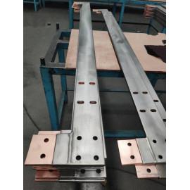 Titanium  clad Copper welding formed drilling holes parts