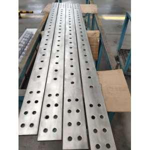 Titanium clad copper machining porous parts