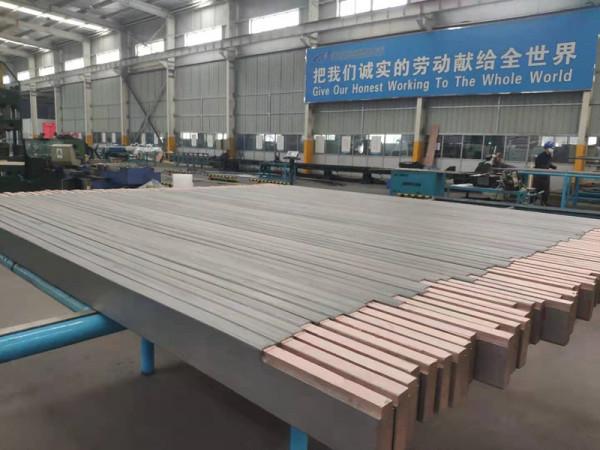双层金属复合材料—钛包铜加工大宽扁