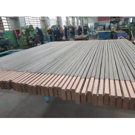 Titanium clad Copper busbar
