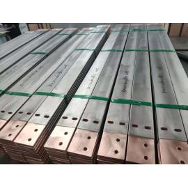 Titanium clad copper machining parts