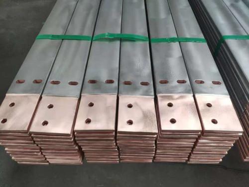 双层金属复合材料—钛包铜打孔铣削成型件