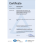 ISO 9001:2015 quality certification system certificate