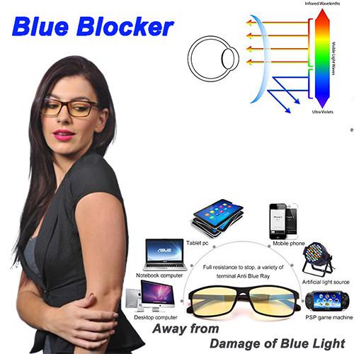 Anti-blue  acetate adults and kids optical frame