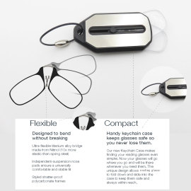 Wholesale reading glasses without arms Folding reading glasses Mini Clic Reading glasses