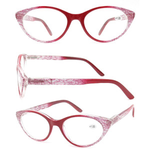 2018 Reasun CHEAP plastic  oral reading glasses with metal spring hinge