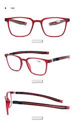 Men Magnetic Reading Glasses  Glasses Computer Glasses Women Presbyopic Eyewear TR Eye Glass Frame