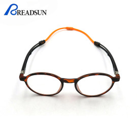 Magnetic Reading Glasses Portable Hanging Neck Reading Glasses Round Glasses Men Eyewear
