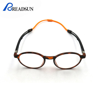 TR90 Magnetic Reading Glasses Portable Hanging Neck Reading Glasses Round Glasses Eyewear
