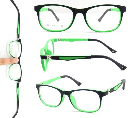 Flexible Quality TR90 Anti Blue Light Glasses Optical Frames for Kids