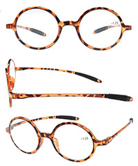TR90 spectacle eye round design optics cheap granny reading glasses