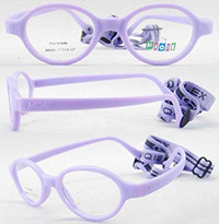 Soft No Screw Bendable Children Sports Tr90&silicone Safe Flexible Optical Frames