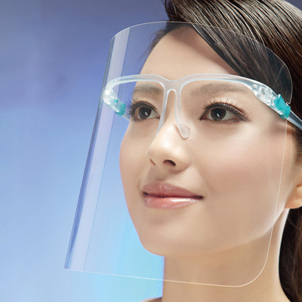 Transparent Anti Fog Safety Protective Face Shield