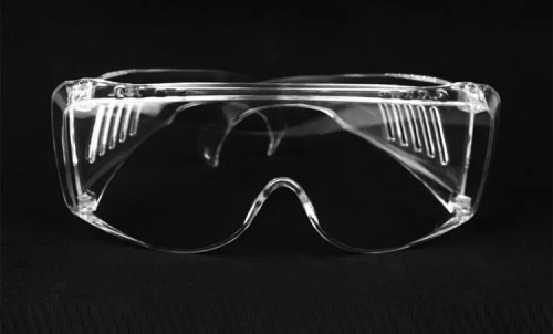 Transparent Anti Fog Impact Resistant Protective Safety Goggles with Ce Certificate