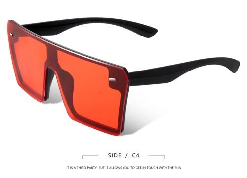 Oversized Retro Vintage Luxury Brand Sunglasses for Women