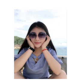 UV400 Oversized Ocean Lens Shades Factory Wholesale Women Female Lady Rimless Diamond Cut Sunglasses