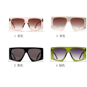 Fashion Womens Designer Cheap Wholesale Ladies Oversize Sunglasses